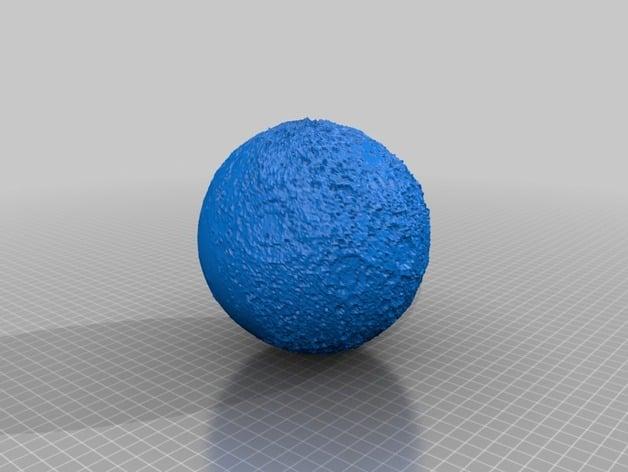 Moon 10x Rev 2 By Globemaker Thingiverse