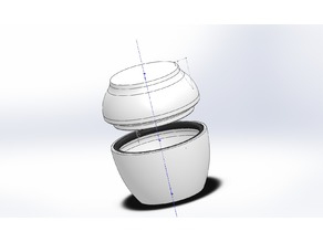 Spice Jar with O-Ring seal