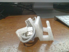 Ipad 2 Stand + cable holder