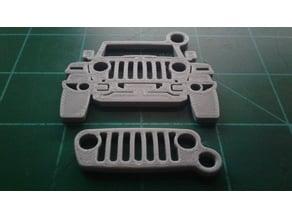 Jeep Wrangler JL & JLU Keychain