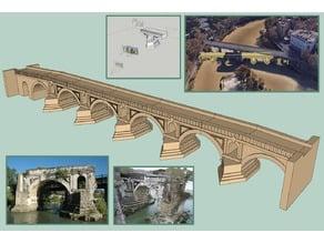 Pons Aemilius - Roman Bridge Digital Reconstruction