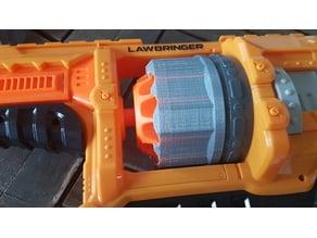 Nerf Lawbringer Cylinder cover