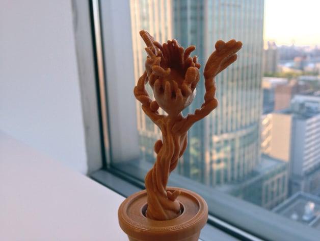 Dancing Groot by Cordavi - Thingiverse
