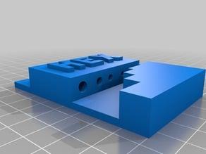 Wanhao Duplicator i3 hex key holder