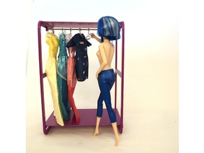Wardrobe for Barbie