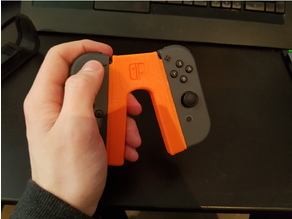 Nintendo Switch joy-con grip (now with a rework!)