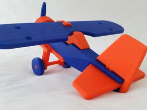 High Wing Airplane (Modular)