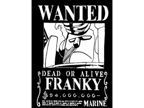 Wanted Poster Franky