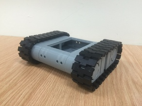 Drogerdy - Raspberry Pi Controlled Tank Bot