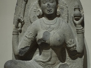 Yogini with a Jar, early 10th century