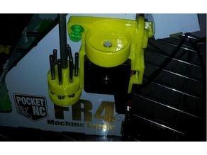 Flexible Magnetic bit holder attachment for FR4 machine shield