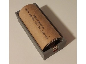 Cylindrical Battery Holder v0.0.3
