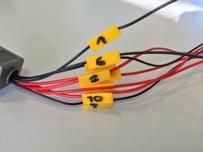 Parametric Cable Label