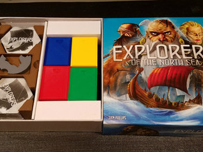 Explorers of the North Sea Tile Caddy and Boxes