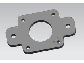 Nema 17 motor mount for 2020 Aluminium profile.