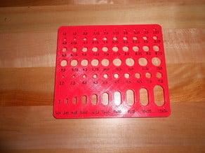Printable Shrinkage Calculator