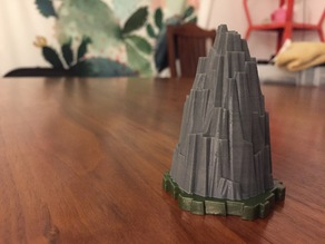 Heroscape Rock Outcrop (1 Hex)