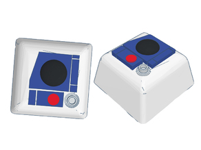 R2-Cap2 Star Wars Inspired Mechanical Keyboard Key Cap