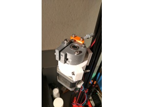 Extruder no push fit connection for NEMA-17 motor with integrated Planetary gearbox