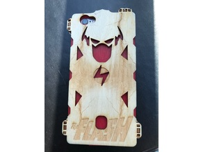 The Flash Wooden iPhone 6 phone case