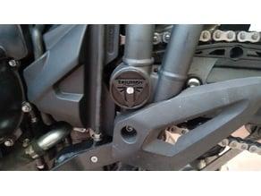 Triumph Tiger 800 Swingarm pivot cover