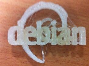Debian OS logo
