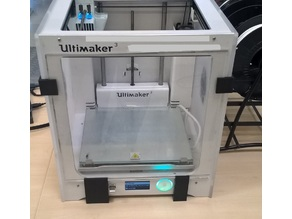 Ultimaker 3 door clip and stand