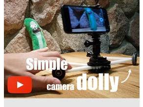 simple camera dolly