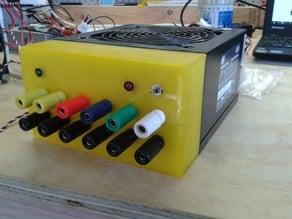 ATX PSU Front Panel for Banana Sockets
