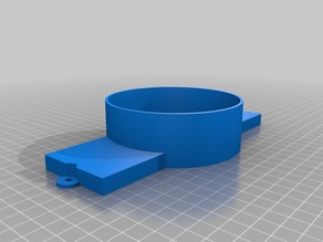 4 inch exhaust vent adapter for K40 laser cutter