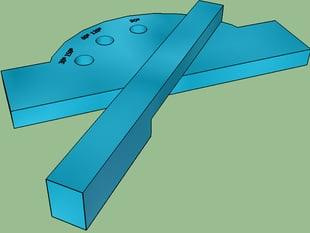 Ruler (Draw angles)- Regla (dibujar ángulos)