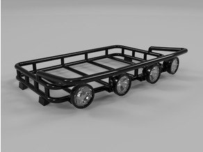 Make It RC 1/12 Scale Roof Rack for RC Car and Truck