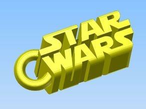 Portachiavi STAR WARS V1 - Keychain STAR WARS Version 1