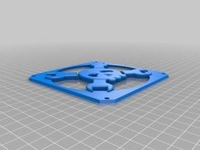Hackaday Logo Fan Grid (120mm Fan)
