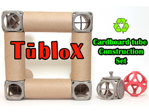 Tublox Cardboard Tube Construction Set
