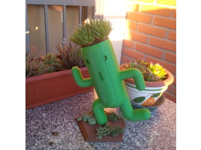 Yet another Cactuar planter