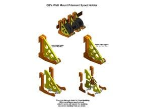 DB's Wall Mount Filament Spool Holder