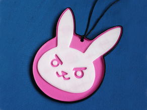 Overwatch - D.Va's Bunny Badge
