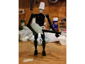 Buckethead Action Figure