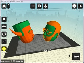 Cartoon Character Maker - Now with dualstrusion!