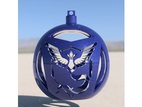 Pokemon Go Team Mystic Tree Ornament