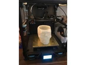 Low Poly Skull vase/bowl  without vase mode.