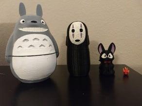 Studio Ghibli Nesting Doll