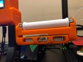 Filler - Filament spool holder with integrated filament weight sensor