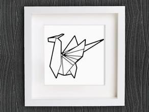 Customizable Origami Dragon