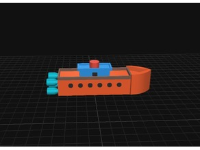 Space square Boat