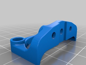 Anycubic Kossel 3D Touch mount remix