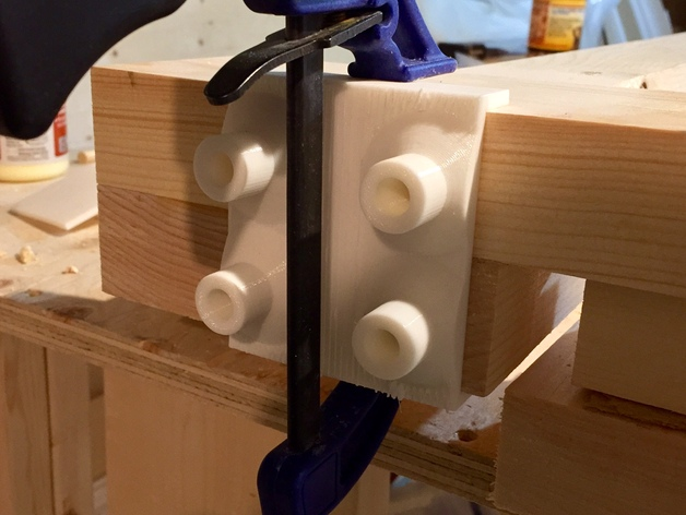 4-dowel template by renobot - Thingiverse