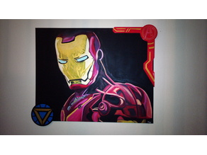 Canvas Frame Ironman