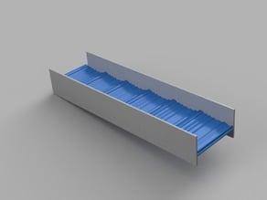 connectable sluice box bottom